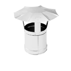 Stainless steel chimneypot